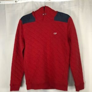 Vineyard Vines  Hooded Pullover Quilted